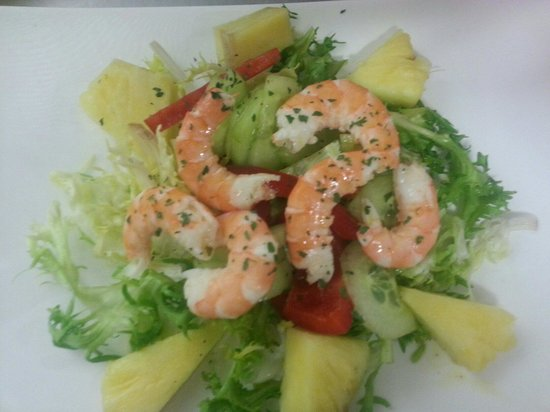 Salade tropical